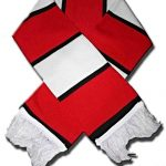 United Munich Memorial Knitted Red Bar Scarf (1)