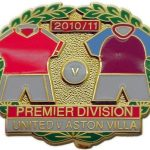 United v Aston Villa Premier Match Metal LL Badge…