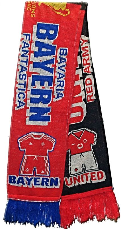 United v Bayern Red Kit
