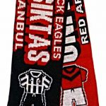 United v Besiktas Half Half Friendship Knitted Scarf