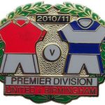 United v Birmingham Premier Match Metal LL Badge…
