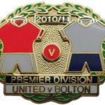 United v Bolton Premier Match Metal LL Badge…