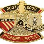 United v Everton Premier Match Metal Badge 2007…