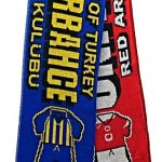 United v Fenerbahce Half Half Friendship Knitted…
