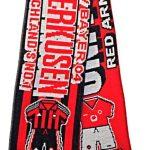United v Leverkusen Half Half Friendship Knitted…