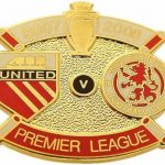 United v Middlesbrough Premier Match Metal Badge…