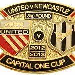 United v Newcastle Capital One Cup Match Metal…