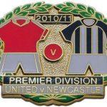United v Newcastle Premier Match Metal LL Badge…
