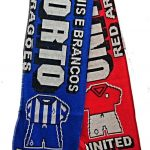 United v Porto Half Half Friendship Knitted Scarf