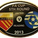United v Reading FA Cup Match Badge 2012-2013… (1)