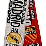 United v Real Madrid Half Half Friendship Knitted…