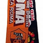 United v Roma Half Half Friendship Knitted Scarf