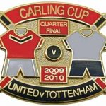 United v Tottenham Carling Cup QF Match Metal…
