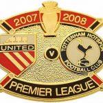 United v Tottenham Premier Match Metal Badge 2007…