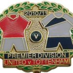 United v Tottenham Premier Match Metal LL Badge…