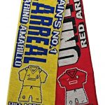 United v Villarreal Half Half Friendship Knitted…